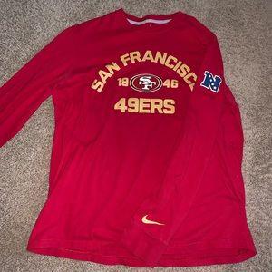 Nike San Francisco 49ers Long Sleeve Shirt